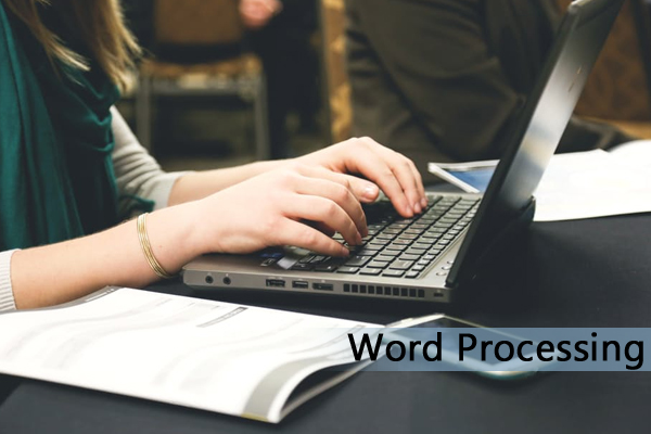 Outsource Word Processing Services