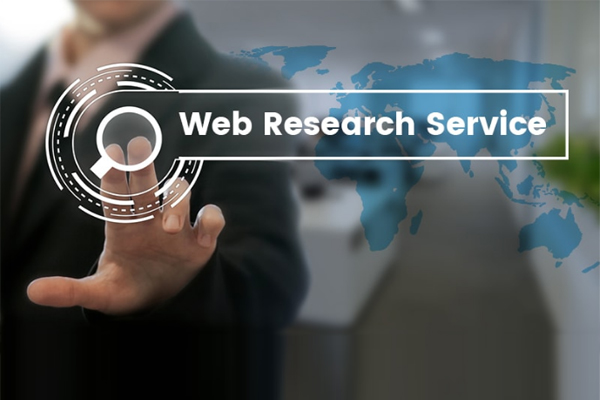 Requirement for Web Data Research