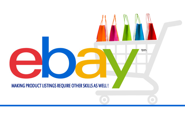 eBay Product Entry Skills and Listing Services